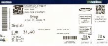 Brings - Liebe gewinnt Tour 2019 - Hagen/Stadthalle